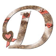D the letter 500 In Roman Numerals, 26 Letters, Alphabet Letters, Alphabet And Numbers, Joy And Happiness, Calligraphy Art, Felt Flowers, Initials, Monogram