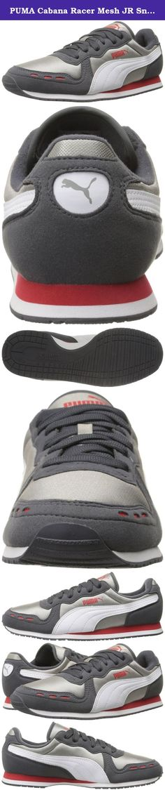 PUMA Cabana Racer Mesh JR Sneaker (Little Kid/Big Kid) , Periscope/Drizzle/White, 2.5 M US Little Kid. A favorite among the RS Running family, this light racing flat was first introduced in 1981. This Old-School running shoe became popular again in the Archive family and turned out to be a must-have-shoe for all stylish Kids – featured here in a classic nylon mesh and suede.