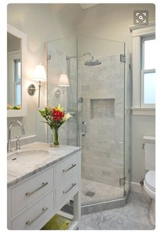 small shower design ideas pictures remodel and decor - Bathroom Remodel Designs