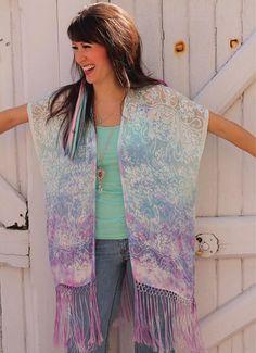 Walkin' into the weekend like... Wearing the first hand-dyed silk kimono we ever made. . . . . #kimono #kimonos #kimonostyle #AlysonRenee #MadeInNYC #bohemian #summerstyle #resortwear #beachstyle #handdyed #tiedye #bohofashion #bohostyle