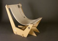 This is a pretty cool chair design and I love his video for the construction http://gfricke.com/wp/?portfolio=mdf-chair #CoolChair