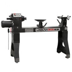 Laguna Revo 18|36 Lathe - this large lathe is ideal for turning large bowls and furniture legs.