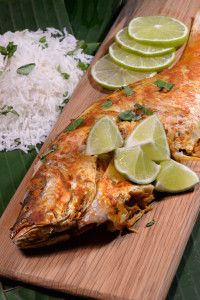 East Timor Ikan Pepes (Fish in Curry Sauce) - International Cuisine