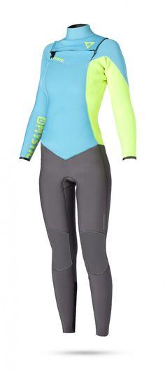 Combinaison femme - Mystic - Diva 5 3 D L Fullsuit Front-zip 7bf6e9fd9