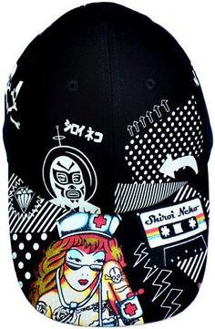 The ROCK NURSE Cap by Shiroi Neko  SmittenScrubs  Gina Gab Solórzano Rau  Scrubs   b9df88472d50