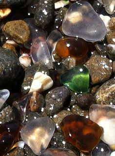 Day 3 - Glass Beach Fort Bragg, CA
