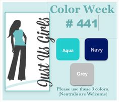 Just Us Girls #441 - Color Week