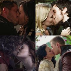 Once Upon A Time   Kisses