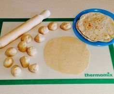 Recipe Wholemeal Chia Wraps / Roti by Thermosherrie - Recipe of category Breads & rolls