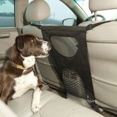 Bergan Pet Products Pet Travel Barrier....definitely need this for Portia...she doesn't know how to lay down and ride in the car