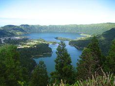 Azores-Lagoa das Sete Cidades Ilha de São Miguel