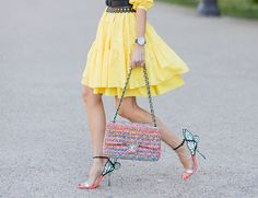 Step On It - Sophia Webster Charla Sandals, $595