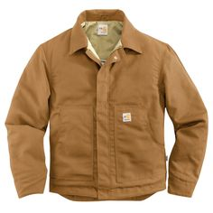 FR MW CANVAS DEARBORN JACKET - The Brown Duck