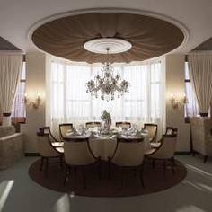 студия визуализации и дизайна интерьера '3dm2': Klasik tarz Yemek Odası