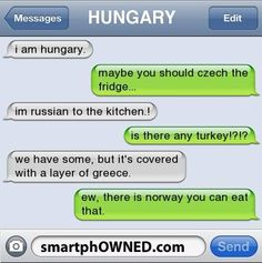 There is Norway you can eat that xD