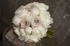 """Creative Muse Floral Design // Peonies and roses including Snowy Jewel, David Austin """"Patience"""" and Quicksand (beige pink)"""
