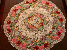 Hungarian Kalocsai handmade embroidered by macaristanbul on Etsy