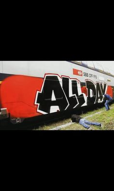 ALL DAY- kcbr Graffiti Art, Bad Boys, Inspiration, Logos, Drawings, Illustration, Artist, Fun, Painting