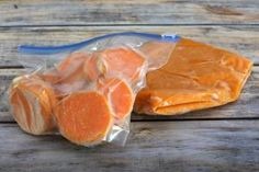 How to Freeze Sweet Potatoes Three Ways: Frozen Sweet Potatoes Mashed and Sliced