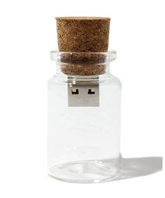 Pen drive bottle