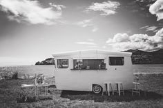 The Coromandel Caravan Bar is the perfect addition to your wedding or event, we can go pretty much anywhere you want to party! Packages include the vintage Baravan, staff and glassware. Your day, the Coromandel way. Caravan Bar, Recreational Vehicles, Image, Camper Van, Campers, Single Wide