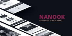 Nanook - Responsive Tumblr Portfolio Theme - Portfolio Tumblr