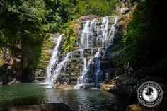 Get back to nature at the Nauyaca Waterfall.
