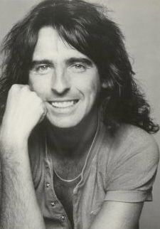 Alice Cooper.......I always loved his attitude to life on a radio show I used to listen to.