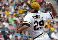Pirates pitcher Bryan Morris (Photo credit: Christopher Horner  |  Tribune-Review)