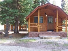 West Yellowstone Vacation Rental - VRBO 410198 - 1 BR Yellowstone Country Cabin in MT, Rustic Cabin at the Base of Lionhead Mt with Amazing ...