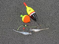 A slip float, bobber stop, bead, split ring and jig comprise a versatile rig that catches crappie.