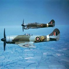 Ww2 Aircraft, Fighter Aircraft, Military Aircraft, Fighter Jets, Spitfire Airplane, Hawker Tempest, Hawker Typhoon, Fixed Wing Aircraft, Hawker Hurricane