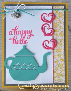 """Designed by Linda Cullen. www.craftystampin.com 