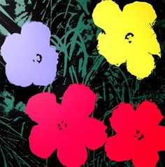 Flowers (11.73) by Andy Warhol