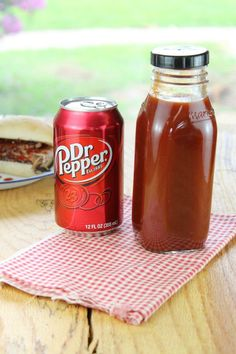 Dr Pepper Barbecue Sauce - a quick and easy homemade barbecue sauce that is perfect for grilling! from Miss in the Kitchen