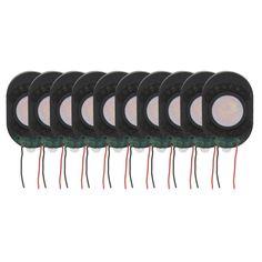10pcs Oval Horn 8Ohm 1W Speaker Tablet PC Speakers Loudspeaker Horn 30*20*4mm