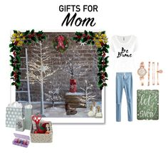 """""""Holiday Gifts for Mom"""" by xdarkgothamx ❤ liked on Polyvore featuring Pier 1 Imports, ArtBin, Anne Klein and holidaygiftformom"""