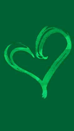 heart Green Grass, Teal Green, Shades Of Green, Green Colors, I Love Heart, Happy Heart, Valentine Heart, Valentines, World Of Color
