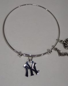 A personal favorite from my Etsy shop https://www.etsy.com/listing/480389884/new-york-yankees-bracelet
