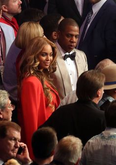 Beyoncé always has this look on her face like she knows something we don't.