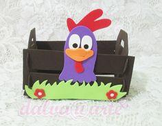 ***caixote tema galinha pintadinha faço todos os personagens ***