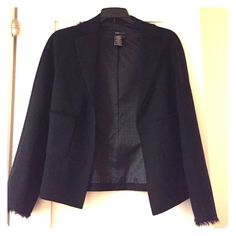 BCBG suit jacket BCBG suit jacket with fringe detail in perfect condition BCBGMaxAzria Jackets & Coats Blazers