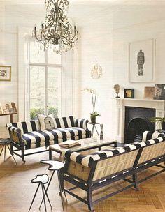 1000 images about black white stripes on pinterest striped chair black and white and. Black Bedroom Furniture Sets. Home Design Ideas