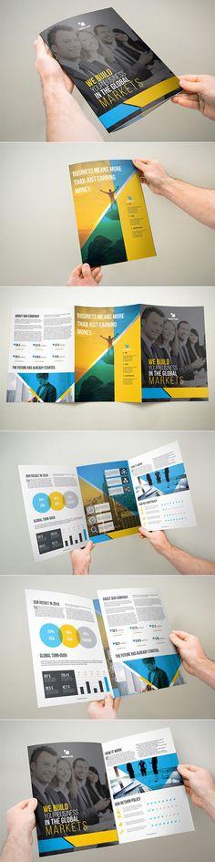 3xA4 Tri-fold Brochure Template