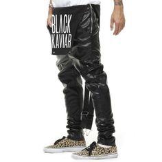 REMEDY 2017 Fashion Spring Men And Women Overalls PU Leather Pants Harem Pants Jumpsuit Leggings Siamese Trousers Hip Hop Pants
