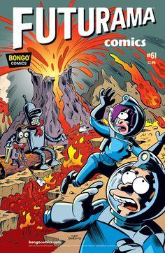 "Cover of the #Futurama Comic # 61 ""Troop Grit"" (via Bongo Comics)"