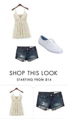 """relax in style"" by internationalbaby ❤ liked on Polyvore featuring rag & bone/JEAN and Keds"