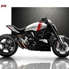 Ducati The X Diavel R Courtesy of: V'Spirit Motorworks