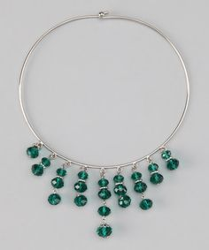 Take a look at this Green Luxe Choker by 1928 Jewelry Company on #zulily today!