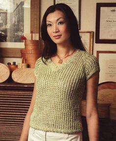 Reynolds--Mona Schmidt--Short Sleeve Mesh Top